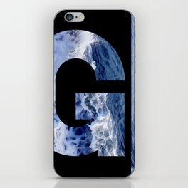 Monogram G iPhone Skin