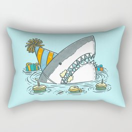 Birthday Shark II Rectangular Pillow