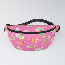 frozen delights in hot pink Fanny Pack