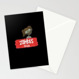Zombies4Kids 001 Stationery Cards