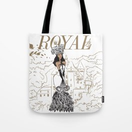 Kayla Royal Tote Bag