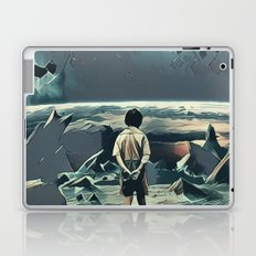 Lonely boy in cosmos Laptop & iPad Skin