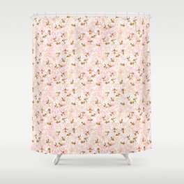 Flower Garden Dance Shower Curtain