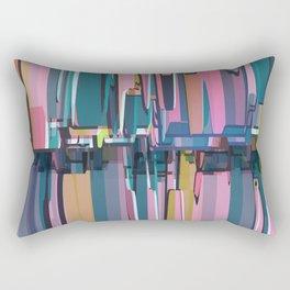 Abstract Composition 638 Rectangular Pillow