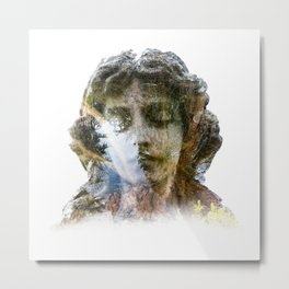 Angel & Nature Metal Print