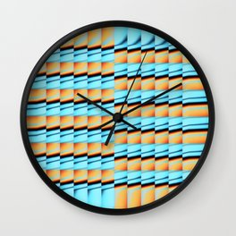 Cooling Down Wall Clock