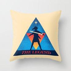 The Legend... Throw Pillow
