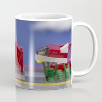 airplanes Mugs featuring Airplanes by Pedro Nogueira