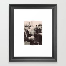 ♡ The Depression lives on ♡ Framed Art Print