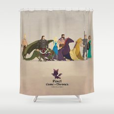 Mhysa's Gang Shower Curtain