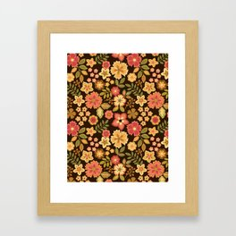 Mini Flowers Framed Art Print