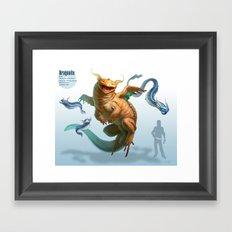 Pokemon-Dragonite Framed Art Print