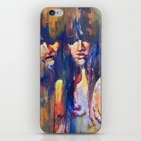 sisters iPhone & iPod Skins featuring Sisters by Jose Rivas