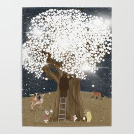 the starlight tree Poster