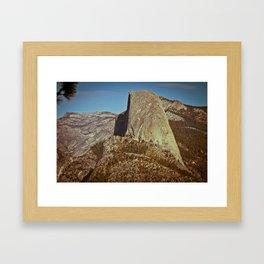 Half Dome - Yosemite National Park Framed Art Print