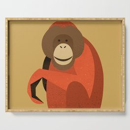 Whimsy Orang Utan Serving Tray