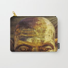 Gold Face Carry-All Pouch
