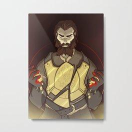 Companion Fears - Himself Metal Print