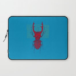 Stitches: Red stag Laptop Sleeve