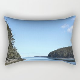 Alaskan Beach Photography Print Rectangular Pillow