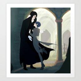 "Black Butler- ""don´t run on hallways"" Art Print"