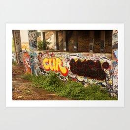 CUR Graffiti Wall Art Print