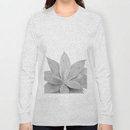 Gray Agave #1 #tropical #decor #art #society6 Long Sleeve T-shirt