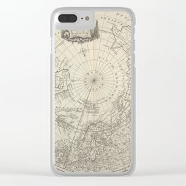 The Arctic 1780 Clear iPhone Case