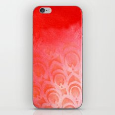 Feathering Red iPhone & iPod Skin