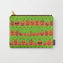 Trick or Treat Smell My Feet- Green Carry-All Pouch