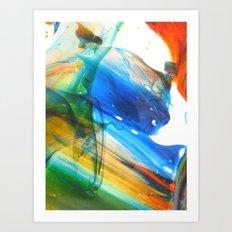 Laminar Flow Art Print