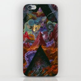 The mysterious land of truth and failures iPhone Skin