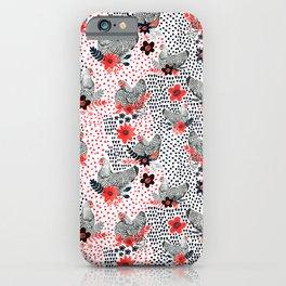Wyandotte Chickens iPhone Case