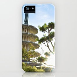 Shot in Japantown iPhone Case