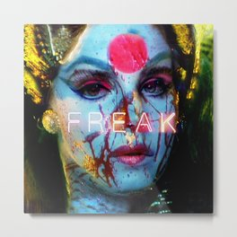 Freak Metal Print