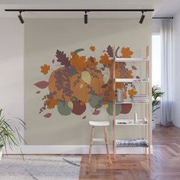 Autumnal Bouquet Wall Mural