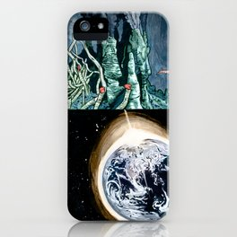 Life on the event horizon 1 iPhone Case