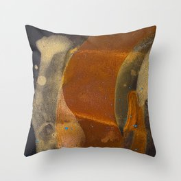 joelarmstrong_rust&gold_017 Throw Pillow
