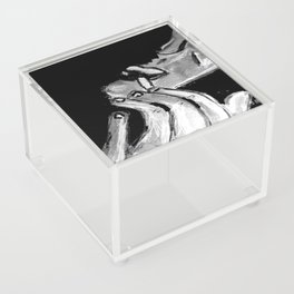 Michael Smoking B&W Acrylic Box