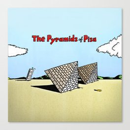 The Pyramids of Pisa Canvas Print