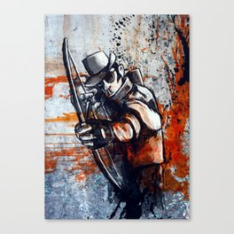 Bloody Gorgeous Canvas Print