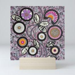 Lovely Flowers Pink Mini Art Print