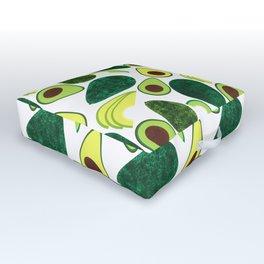 Avocados Outdoor Floor Cushion
