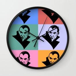 Dracula Vintage Wall Clock