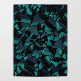3D Mosaic BG IV Poster