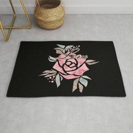 Rose.  Valentine's day 2 Rug
