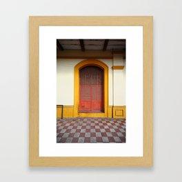 cache-cache Framed Art Print