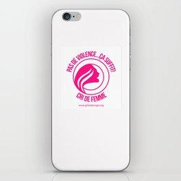 Cri de Femme Cadeaux iPhone Skin
