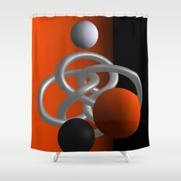 escaped -3of3- Shower Curtain