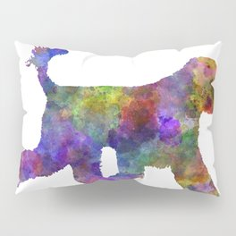Portuguese Water Dog in watercolor Pillow Sham